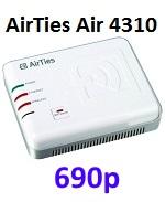 AIRTIES Беспроводной компактный маршрутизатор/точка доступа Air 4310, 150Мбит/с, 802.11b/g/n